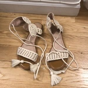 Joie macrame sandals